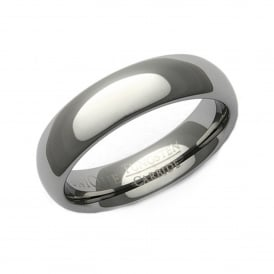 Tungsten Carbide 7mm Curved Ring