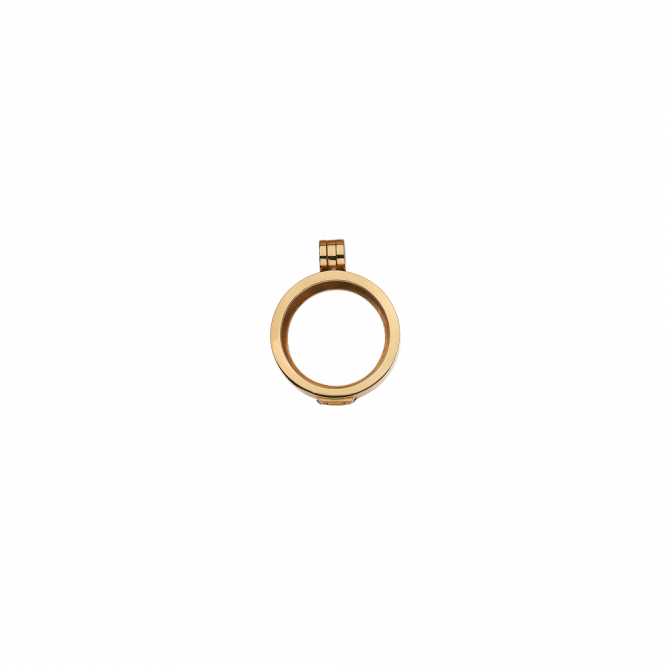 Virtue London 23mm Gold Plated Locket