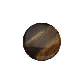 23mm Tigers Eye Keepsake Disc