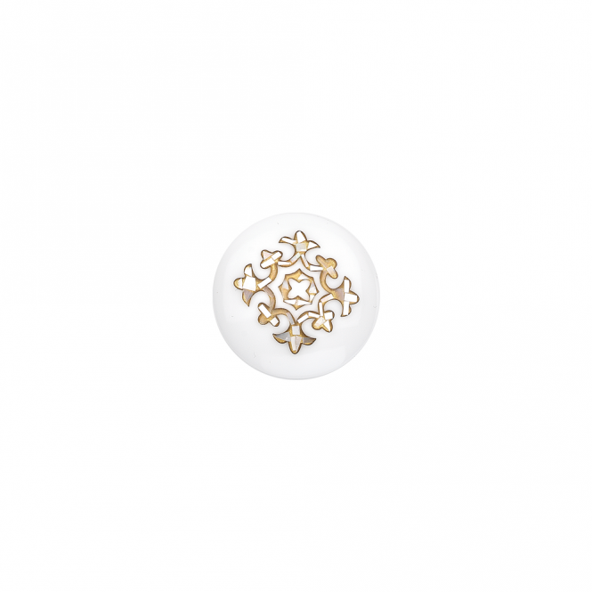 Virtue London 32mm Mother of Pearl Gold Inlay Keepsake Disc