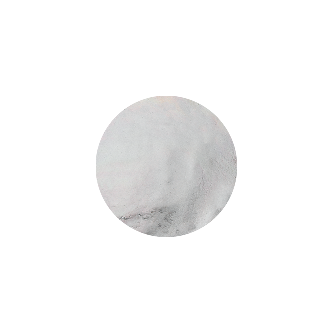 Virtue London 32mm White Mother Of Pearl Keepsake Disc