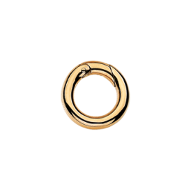 Small Yellow Gold Connecting Ring